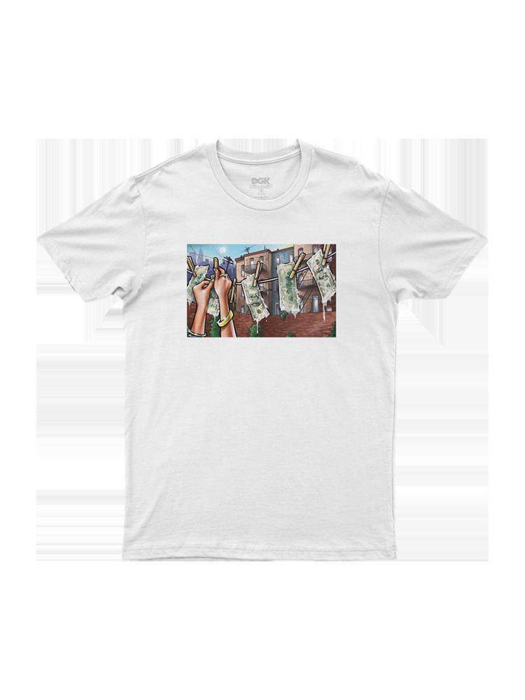 Camiseta Dgk Laundry Branca
