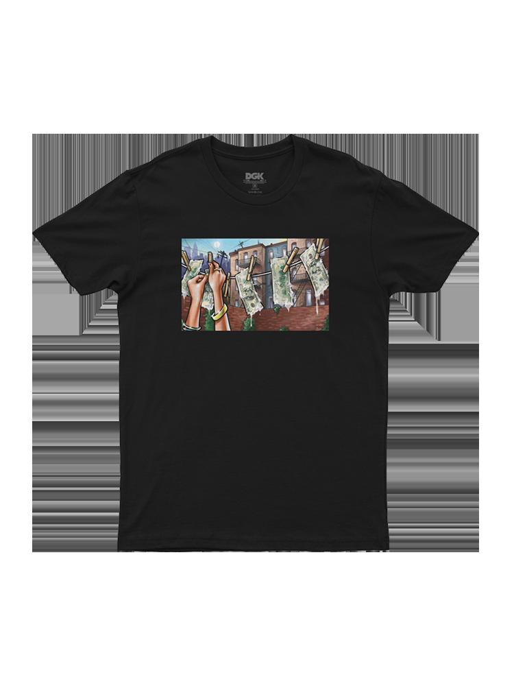 Camiseta Dgk Laundry Preta