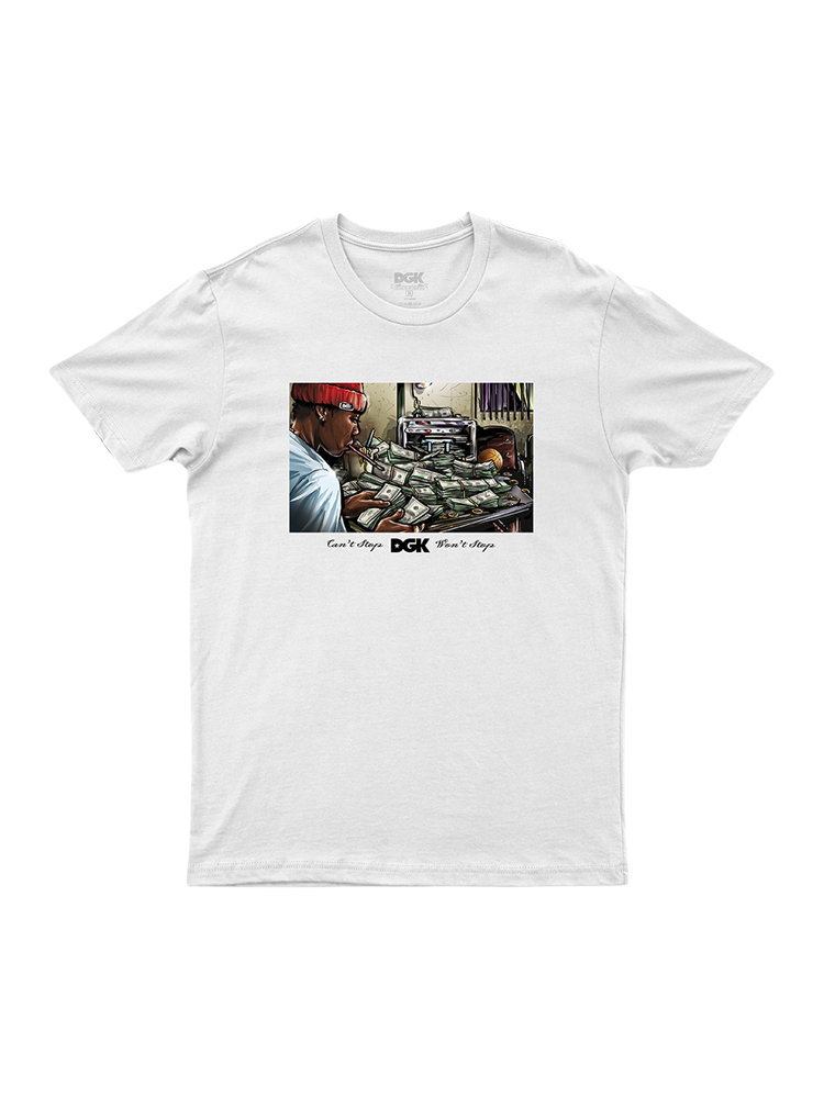 Camiseta Dgk Math Branca