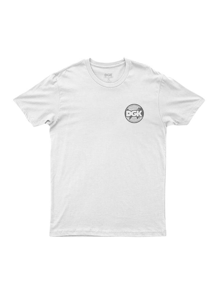 Camiseta Dgk Worldwide Branca