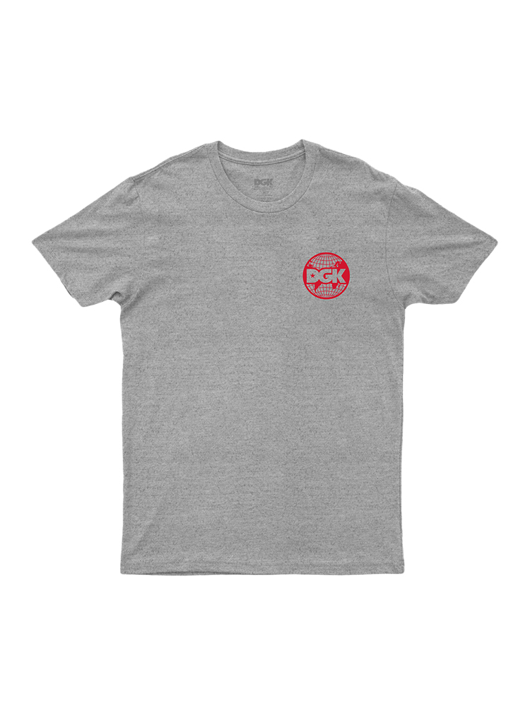 Camiseta Dgk Worldwide Cinza