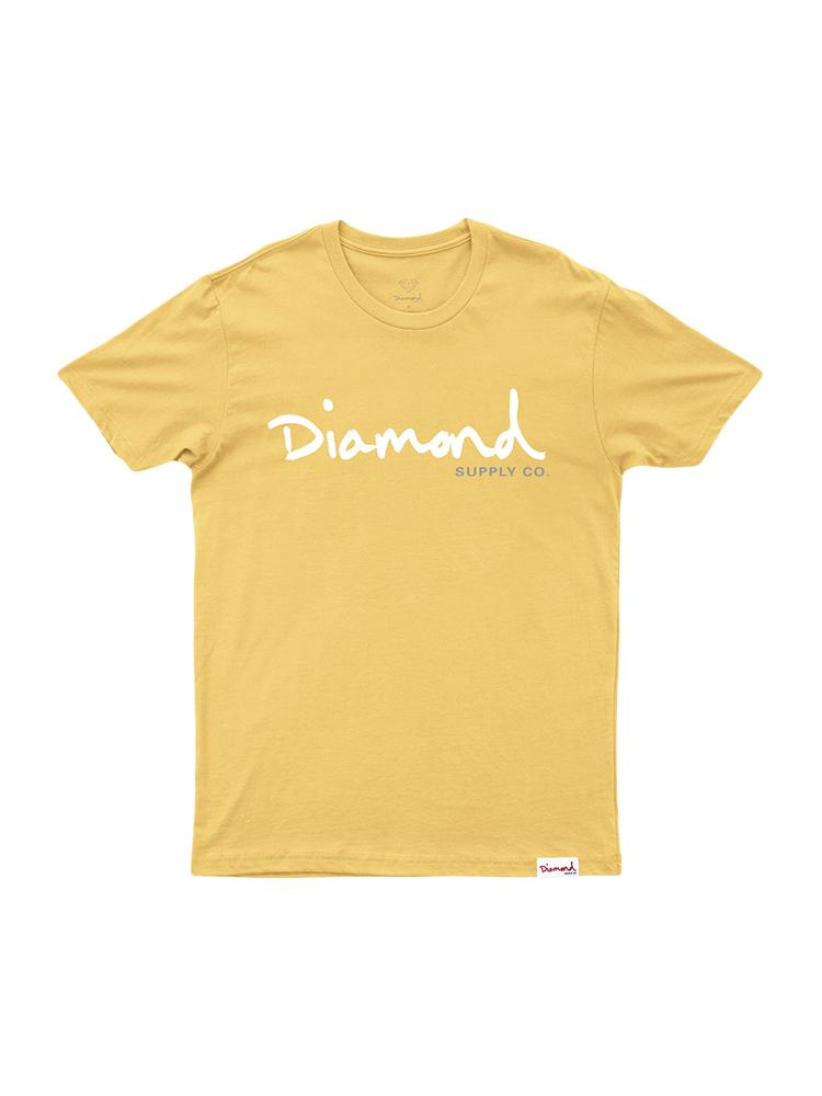 Camiseta Diamond Og Script Banana