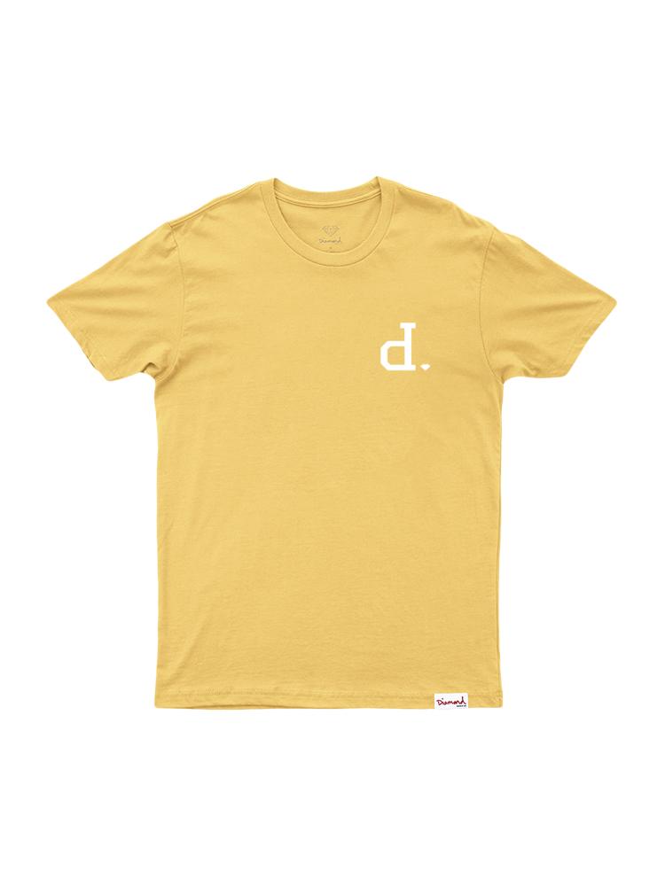 Camiseta Diamond Polo Amarela