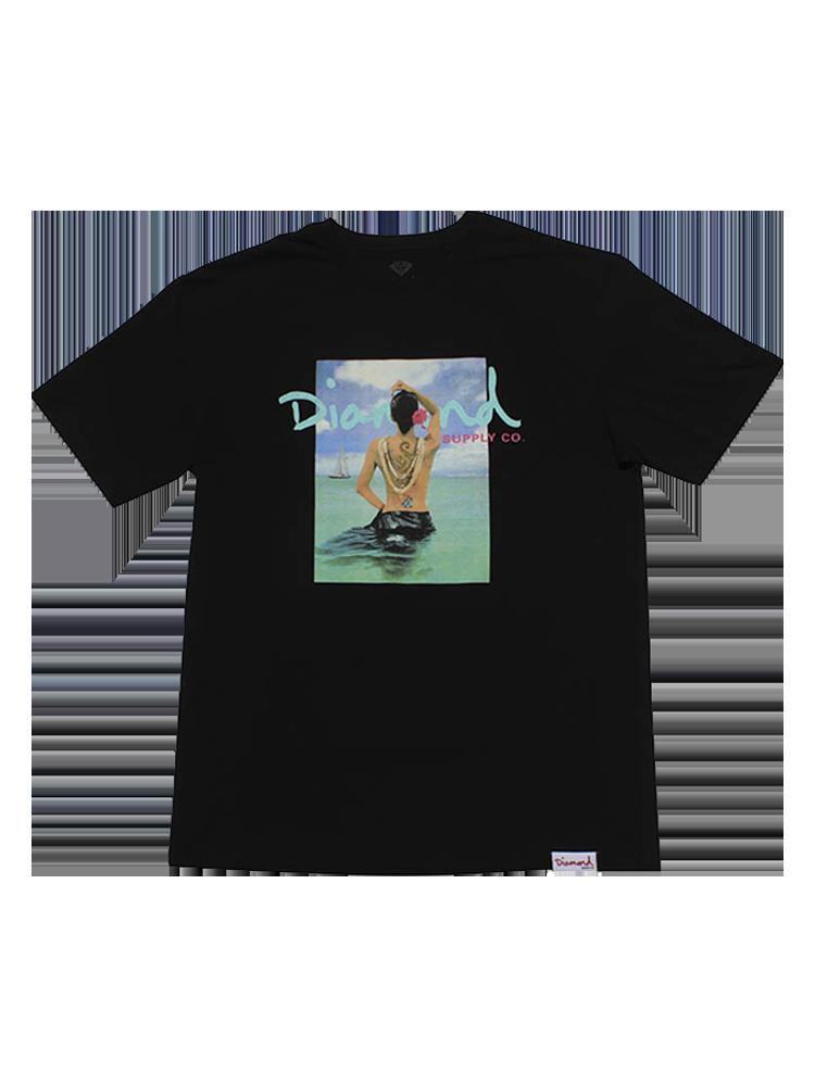 Camiseta Diamond Waist Deep Preta