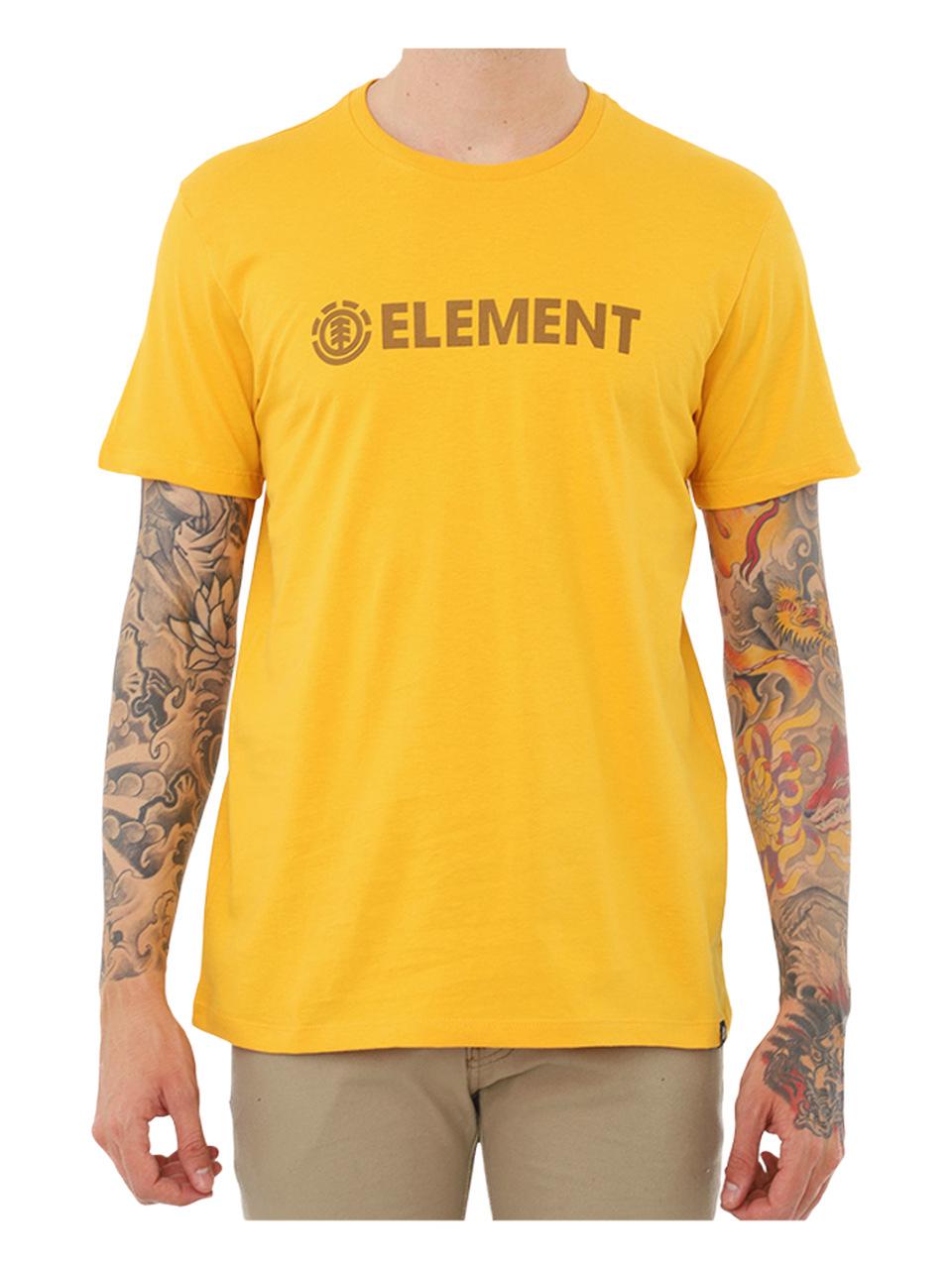 Camiseta Element Blazin Amarela