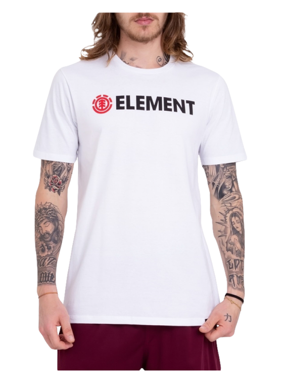 Camiseta Element Blazin Branca Marca Element