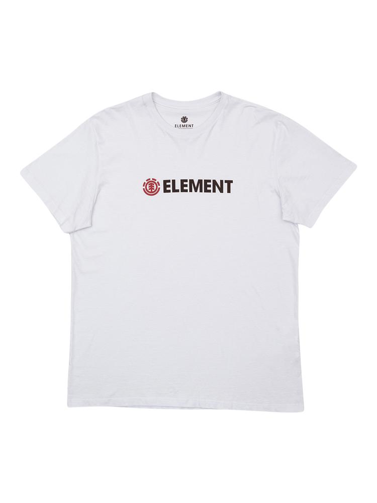 Camiseta Element Blazin Juvenil Branca