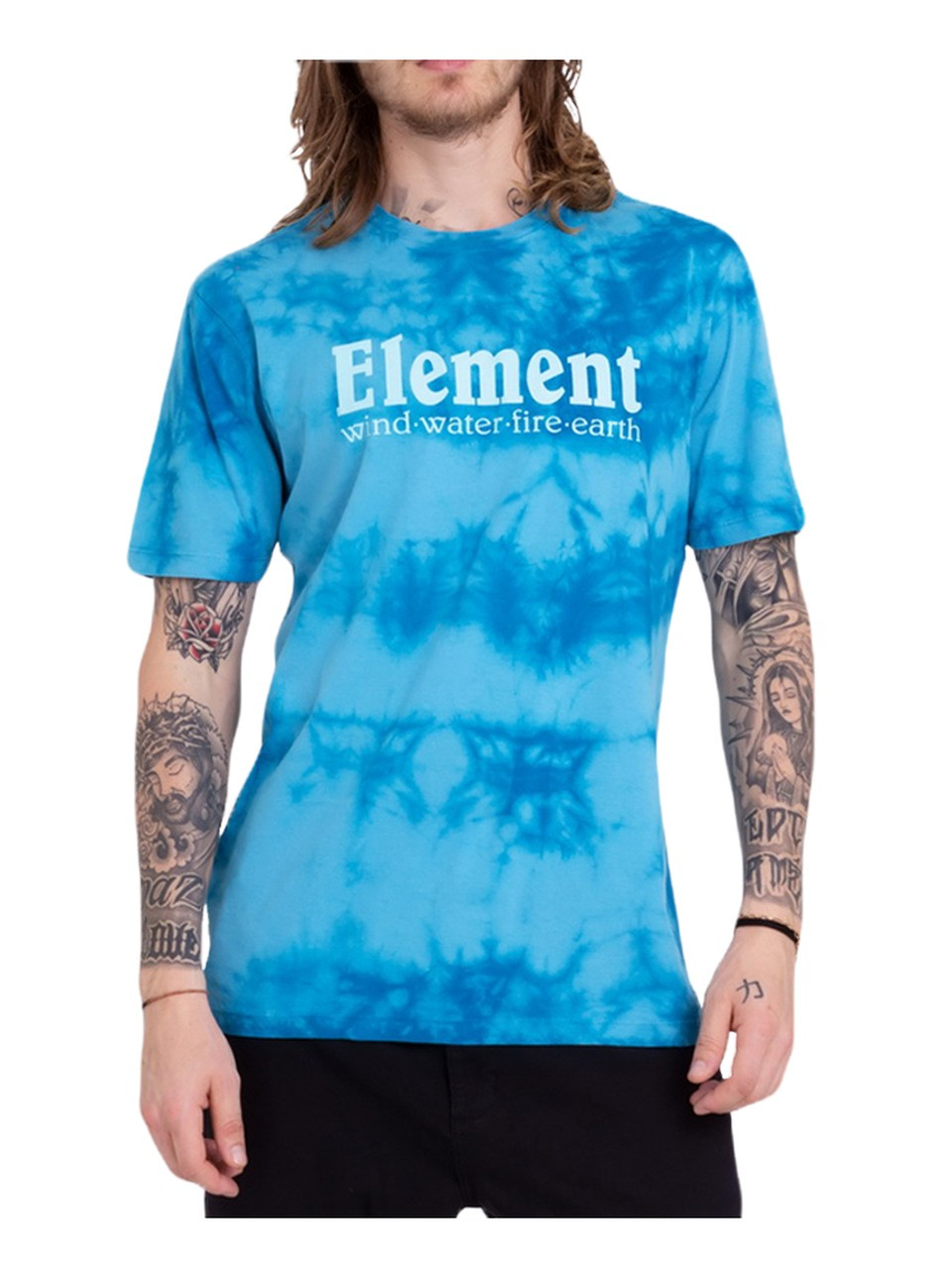 Camiseta Element Clouds Azul