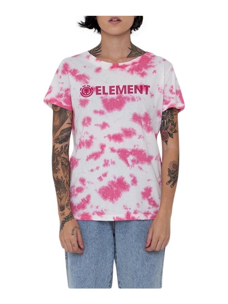 Camiseta Element Feminina Tie Dye Blazin Rosa