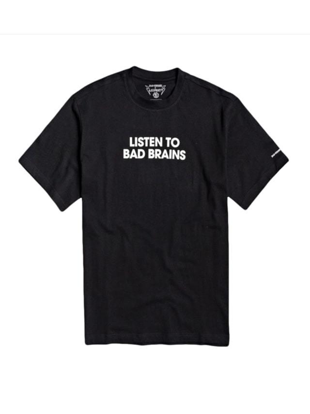 Camiseta Element Listen to Bad Brains Preta