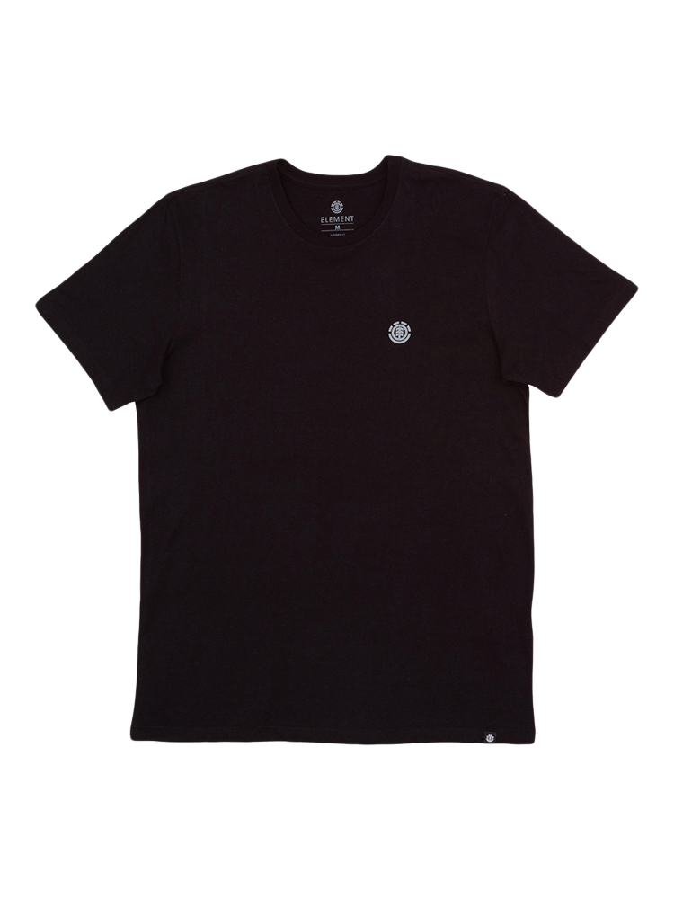 Camiseta Element Logo Chest Juvenil Preto