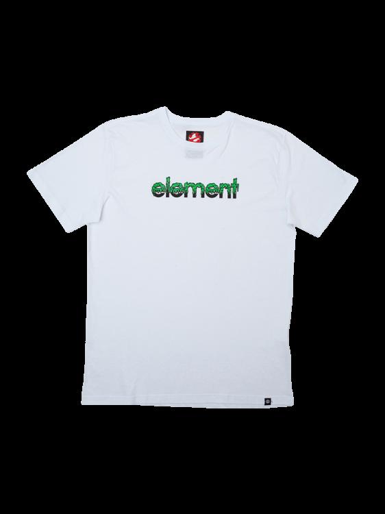 Camiseta Element Proton Capsule Juvenil Branca