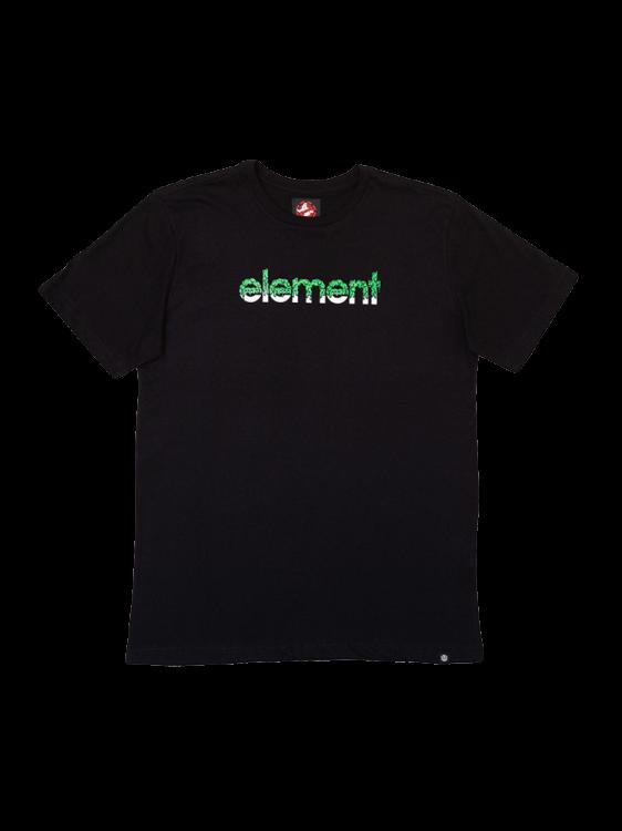 Camiseta Element Proton Capsule Juvenil Preta