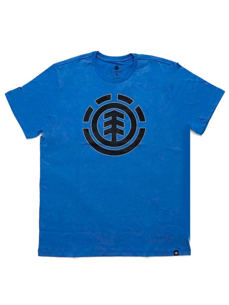 Camiseta Element Resist Icon Fill Azul Mescla