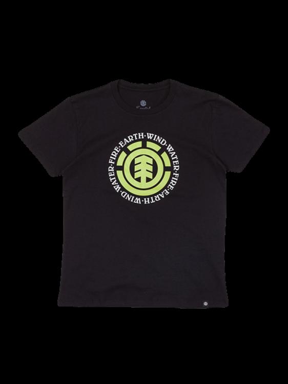 Camiseta Element Seal Infantil Juvenil Preta
