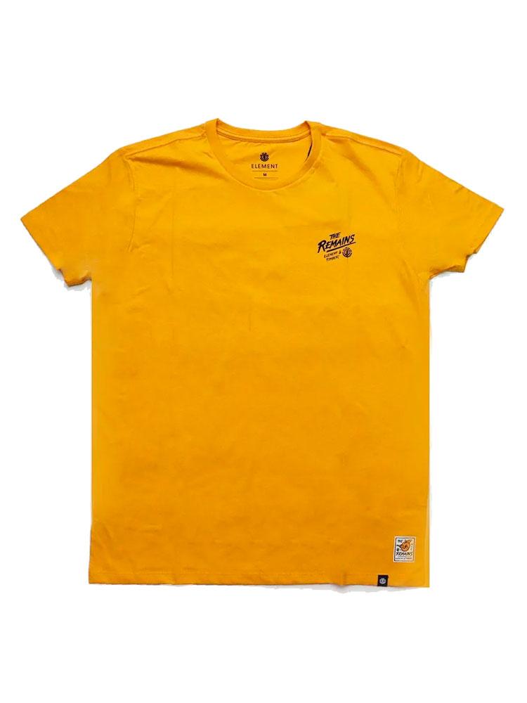 Camiseta Element Timber Liberty Amarela