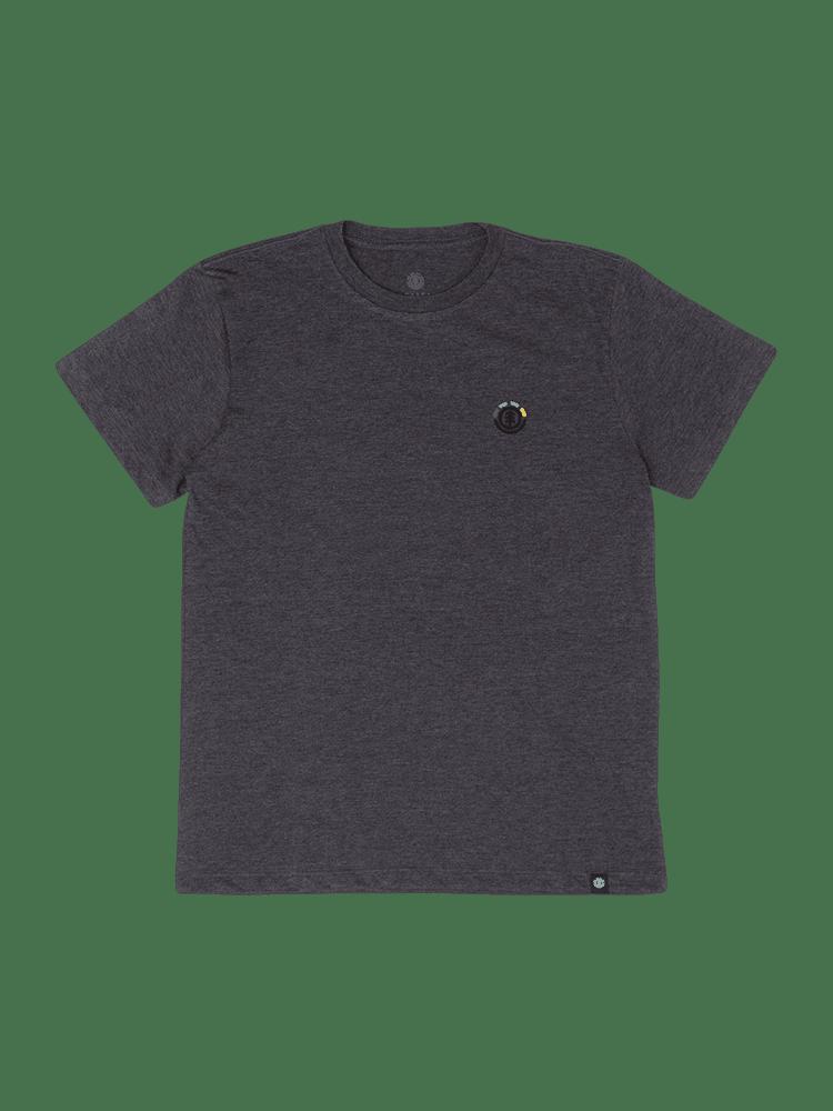 Camiseta Element Tosca Juvenil Cinza