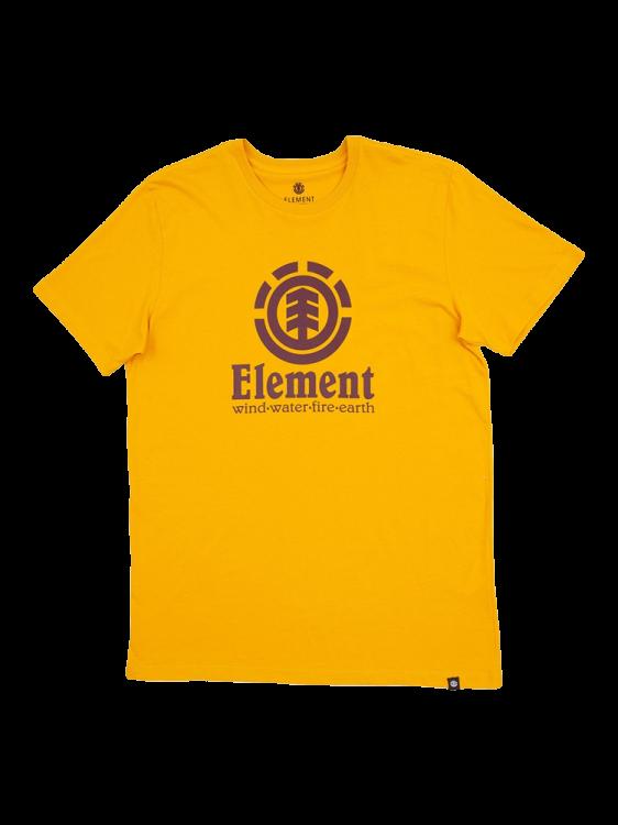 Camiseta Element Vertical Amarela