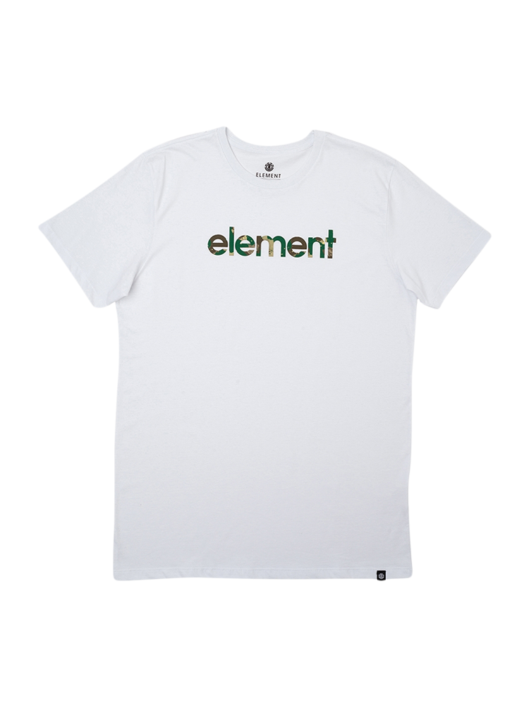 Camiseta Element Water Camo Icon Fill Branca