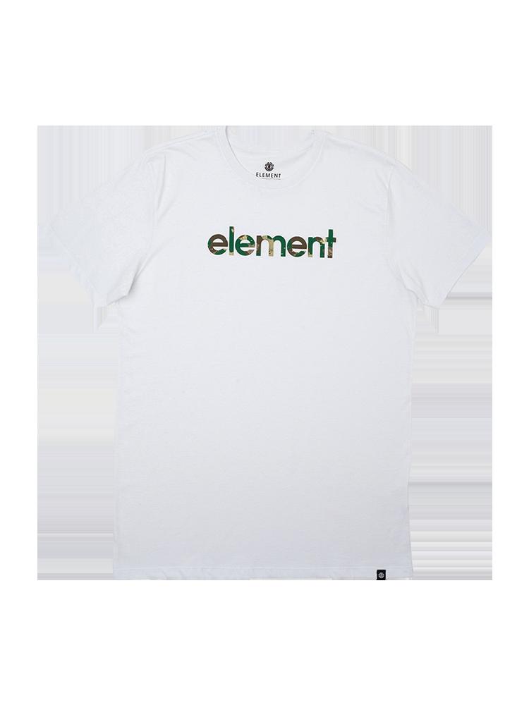 Camiseta Element Water Camo Mark Branca