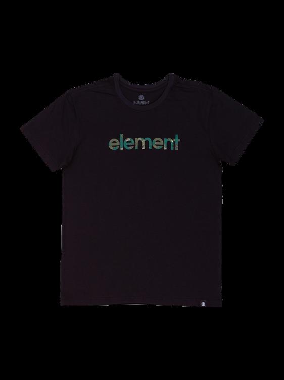 Camiseta Element Water Camo Mark Preta