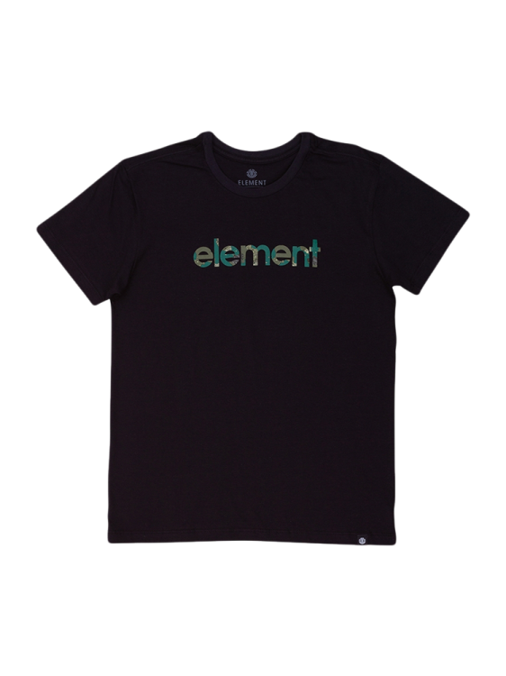 Camiseta Element Water Camo Mark Preta