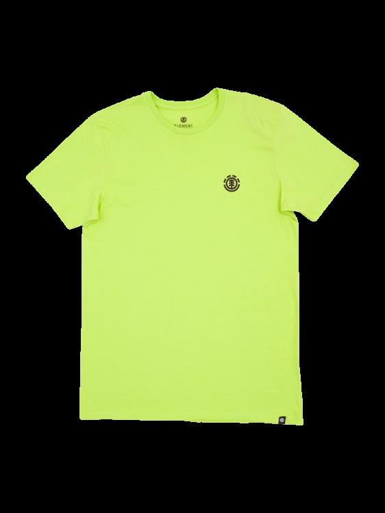 Camiseta Elemente Logo Verde Neon