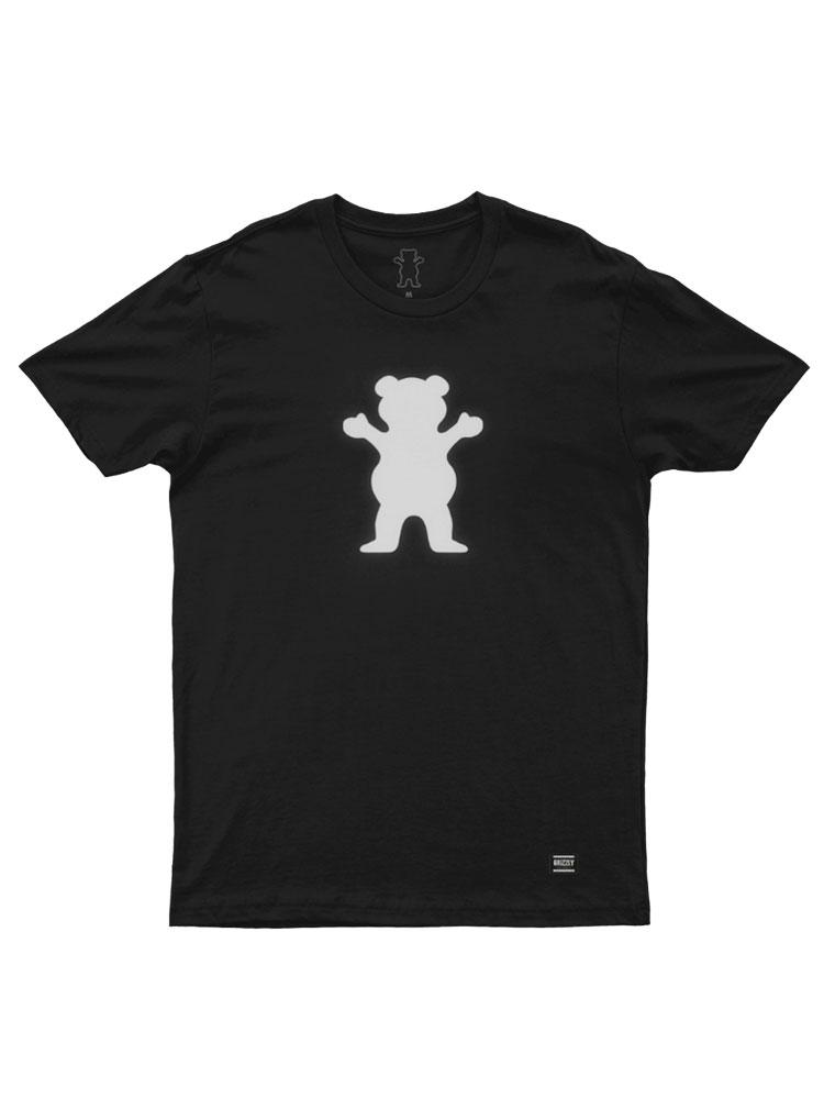Camiseta Grizzly OG Bear Reflective Preta