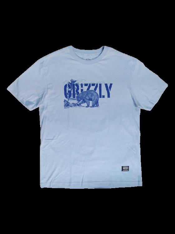 Camiseta Grizzly Paradise Azul