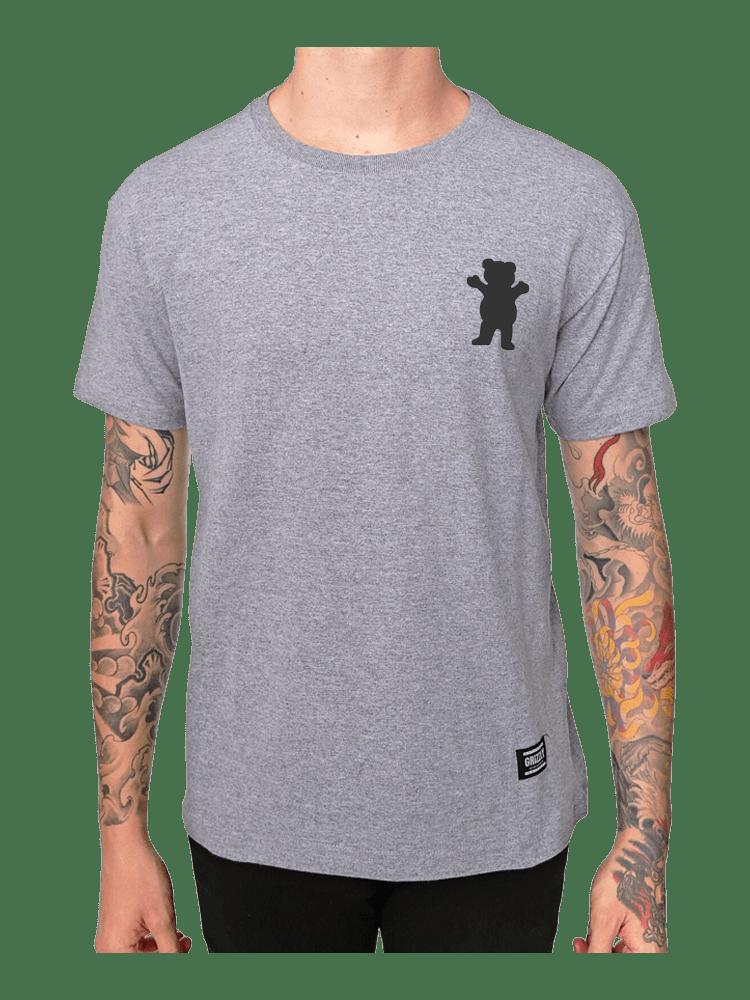 Camiseta Grizzly Stampback Cinza