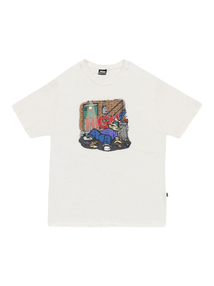 Camiseta High Drunk Branca