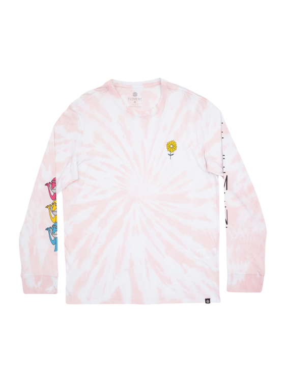 Camiseta Manga Longa Rise Rosa