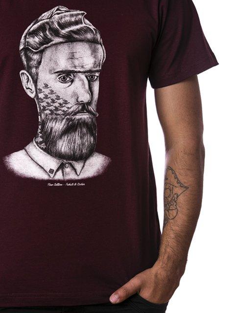 Camiseta New Tribute To Escher Vinho