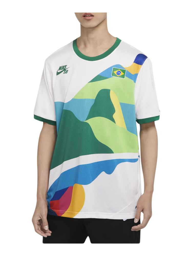 Camiseta Nike SB Brasil Olimpiadas Tokyo 2020 Model I
