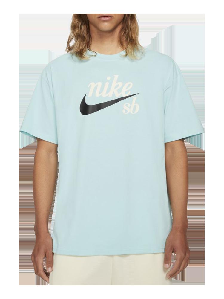 Camiseta Nike SB Logo Celadon