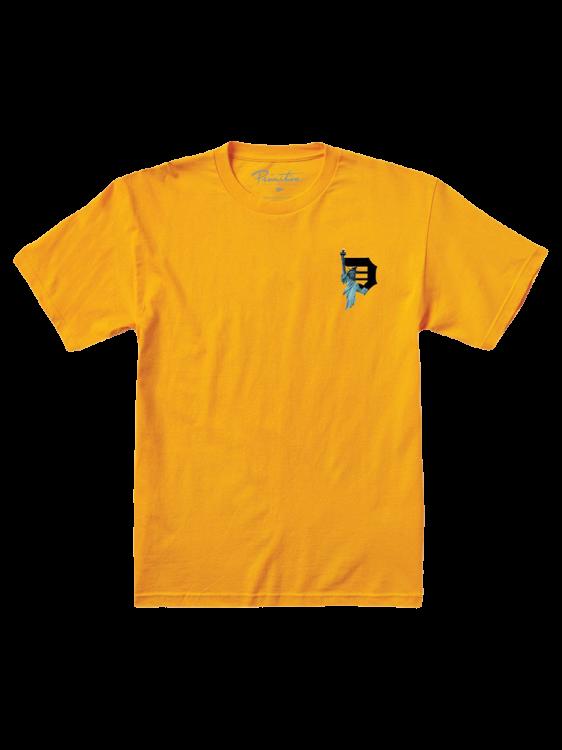 Camiseta Primitive Beacon Amarela