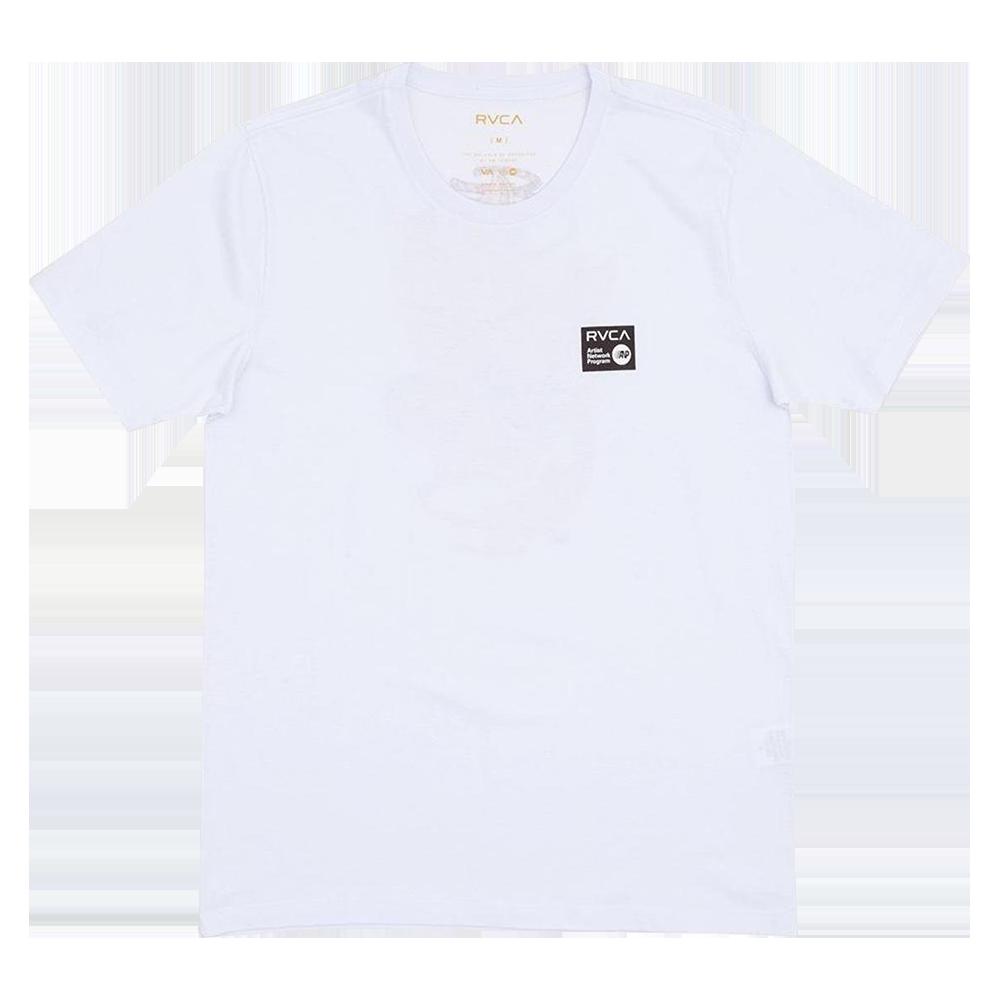 Camiseta Rvca Shintaro Cats Branca