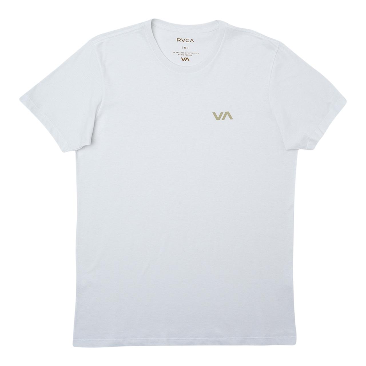Camiseta Rvca VA Off Branca