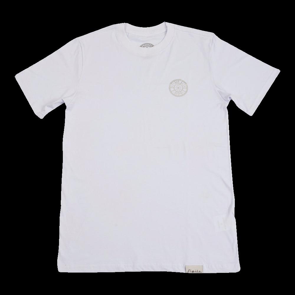 Camiseta Sigilo Bueiro Branca