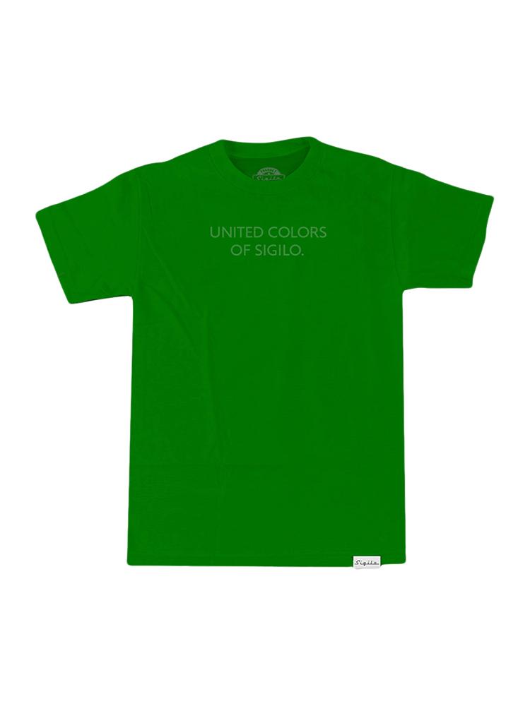 Camiseta Sigilo Color Icon Verde