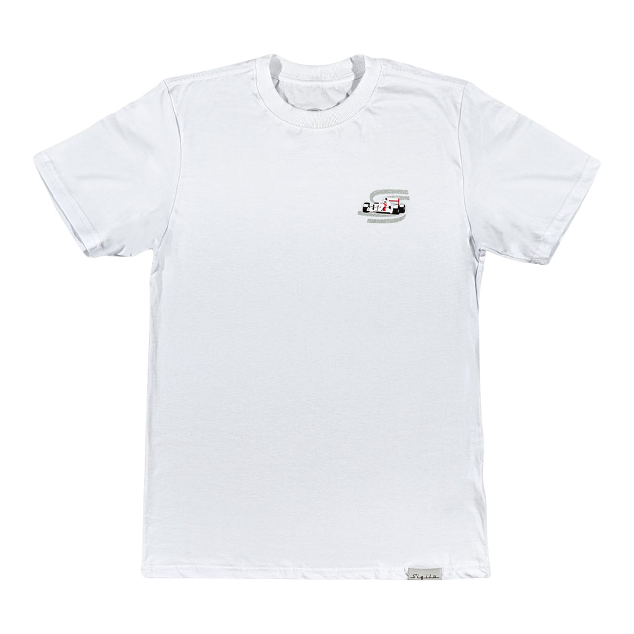 Camiseta Sigilo F-1 Branca