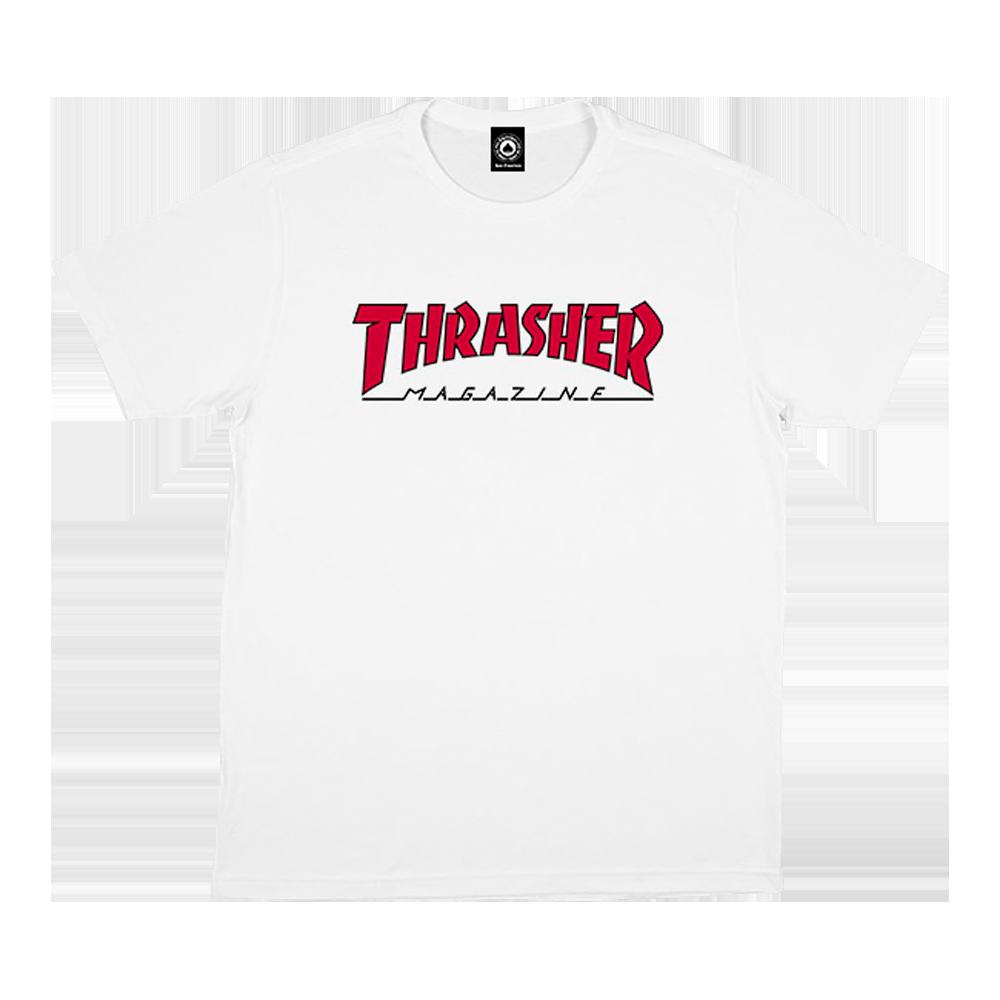 Camiseta Thrasher Outlined Branca