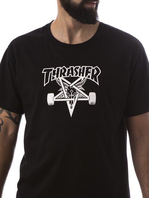 Camiseta Thrasher Skategoat Preto