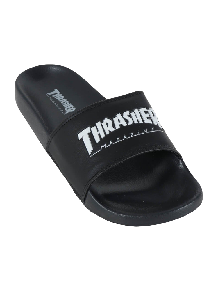Chinelo Thrasher Magazine Logo Preto