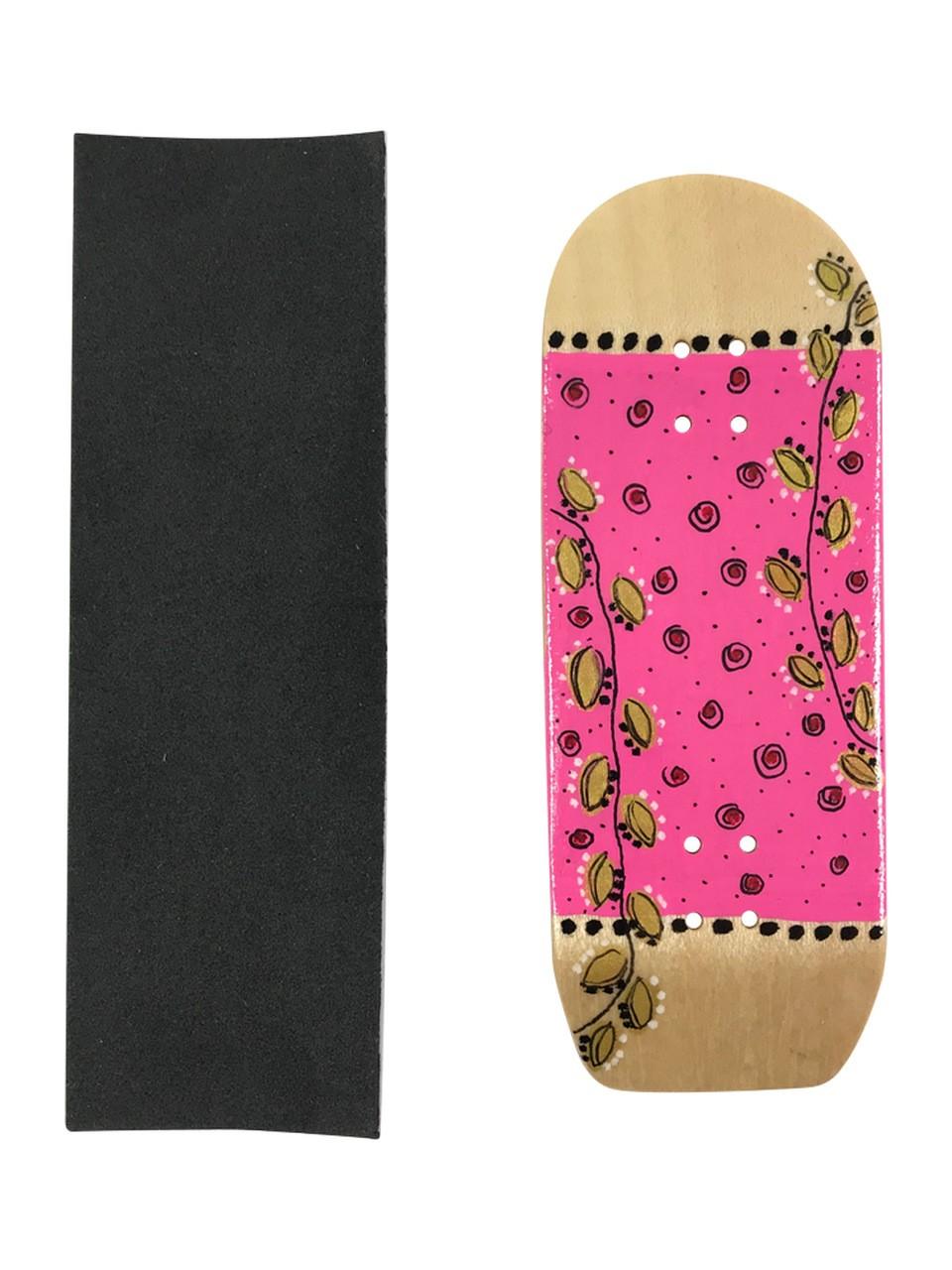 Deck fingerboard Inside Golden Leafs
