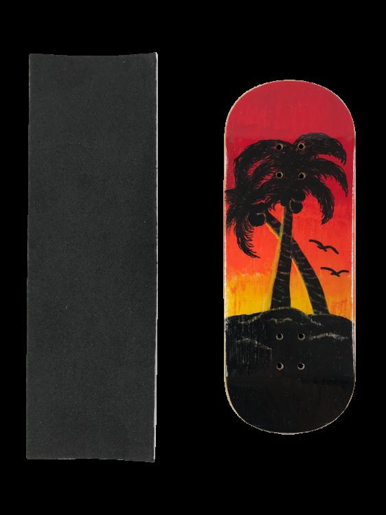 Deck fingerboard Inside Sunset