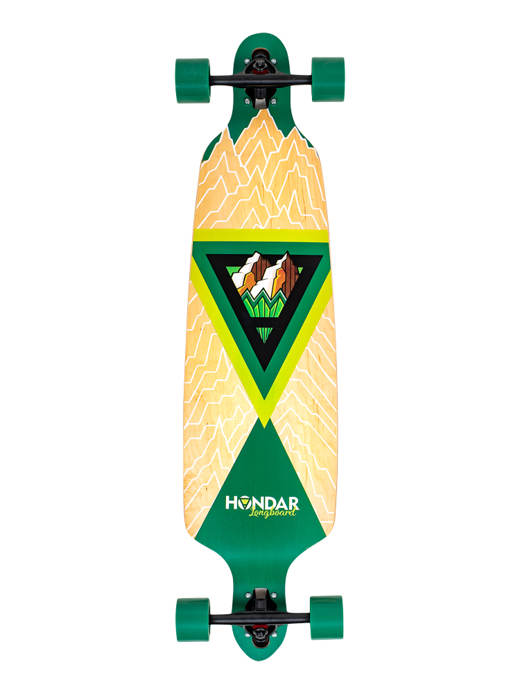 Longboard Hondar 40 Polegadas Earth Freestyle
