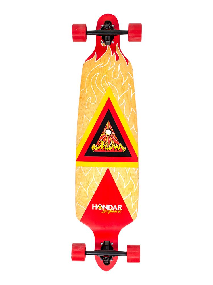 Longboard Hondar 40 Polegadas Fire Freestyle