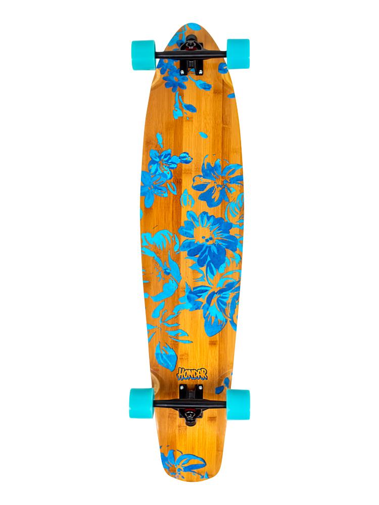 Longboard Hondar 40 Polegadas Floral Blue