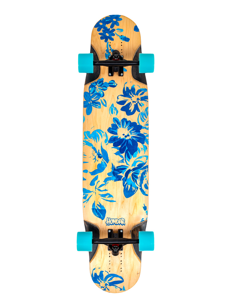 Longboard Hondar 40 Polegadas Floral Blue II